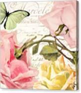 Florabella I Canvas Print