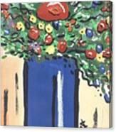 Floral 280 Canvas Print