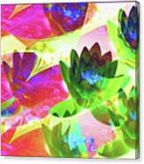 Floral Abstract #3 Canvas Print