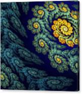 Floral Abyss Canvas Print