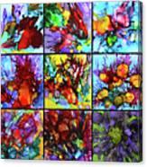 Floral Air Canvas Print