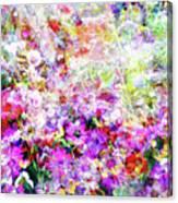 Floral Art Clvi Canvas Print