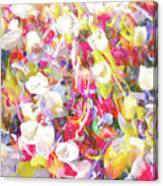 Floral Art Clvii Canvas Print
