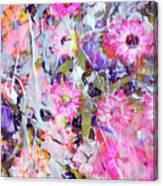 Floral Art Clviii Canvas Print
