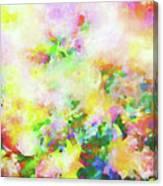 Floral Art Clxiv Canvas Print