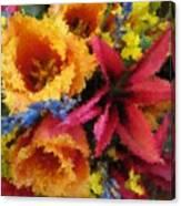 Floral Blast Canvas Print