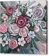 Floral Boom Canvas Print