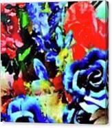 Floral Celebration Canvas Print