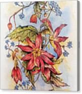 Floral Display 1 Canvas Print