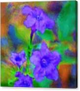 Floral Expression Canvas Print