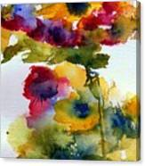 Floral Fancy Canvas Print