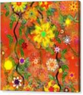 Floral Fantasy 122110 Canvas Print