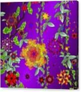 Floral Fantasy 122410 Canvas Print