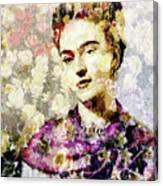 Floral Frida Vii Canvas Print