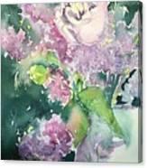 Floral Friday Jan 6 2016 Canvas Print