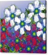 Floral Madness 2 Canvas Print
