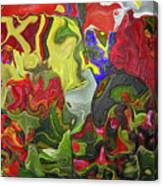 Floral Reef Canvas Print