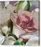 Floral Sand Canvas Print