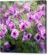 Floral Study 053010 Canvas Print