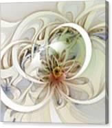 Floral Swirls Canvas Print
