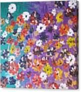 Floral Theme Canvas Print