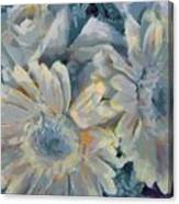 Floral Vegged Out Wow Canvas Print