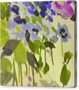 Floral Vines Canvas Print