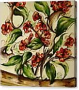 Floral Wisp Canvas Print