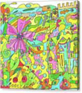 Floral World Canvas Print