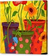 Floralicious Canvas Print