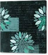 Floralis - 8181cd Canvas Print