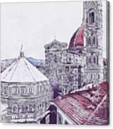 Florence - 19 Canvas Print
