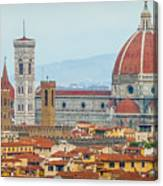 Florence And The Roofs Canvas Print