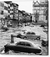 Florence: Flood, 1966 Canvas Print