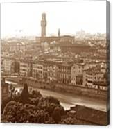 Florence Italy Wide Canvas Print