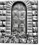 Florence Street Scene Canvas Print