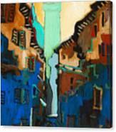 Florence Street Study Canvas Print