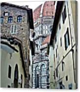 Florence Street Canvas Print