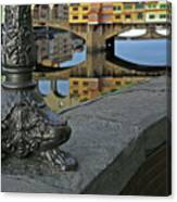 Florence The Old Bridge Canvas Print