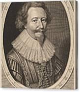 Florent II, Count Of Pallandt Canvas Print