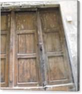Florentine Door 4 Canvas Print