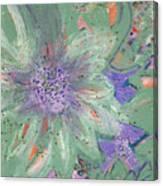 Flores De Amor Canvas Print