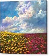 Flores De Mexico Canvas Print