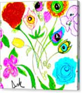 Flores De Primavera  Canvas Print