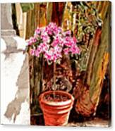Floret Nouveau Canvas Print