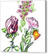 Florets Canvas Print