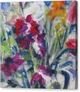 Floribunda Bouquet Canvas Print