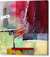 Florid Dream - Red Canvas Print