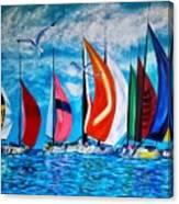 Florida Bay Canvas Print