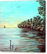 Florida Bay's Elliot Key Canvas Print